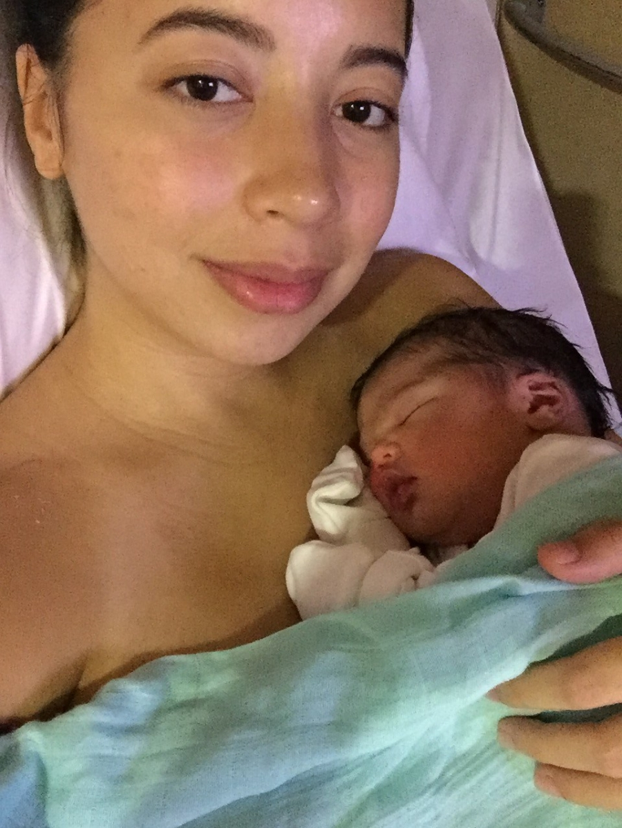 Not every Cesarean birth experience is negative, My Birth Story.